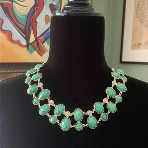"AMRITA SINGH GENUINE ""SELENE"" Bib necklace"